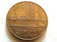 1979 France Ten (10) Francs Coin