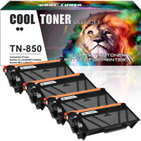 4PK for Brother TN850 Toner HL-L6200DW MFC-L5800DW MFC-L5900DW MFC-L5850DW