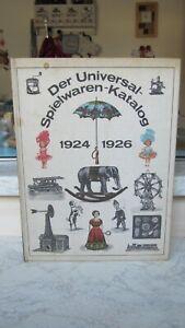 Der Universal-Spielwaren-Katalog - 1924-1926 - DDR - Haushaltsauflösung