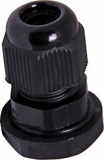 """Lot of 20 1/2 """" NPT - Strain Relief, Cord Grip, Cable Gland w/nut - NEW US"""