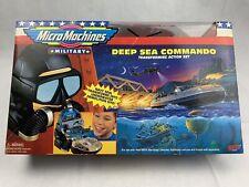 Micro Machines Military Deep Sea Commando 64187 Unopened!