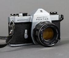 Vintage Honeywell Pentax Spotmatic w/ Super-Takumar 55mm f/1.8 Lens - WORKING