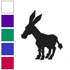 Donkey Mule Hinny Decal Sticker Choose Color + Size #1312