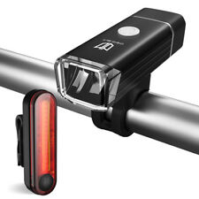Degbit USB Rechargeable Bike Light Set