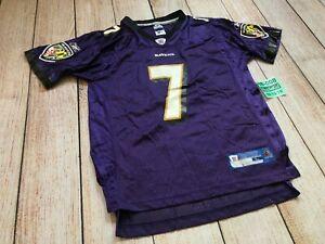 REEBOK Baltimore Ravens BOLLER NFL Football Jersey YOUTH KIDS BOYS Large L❄️H8