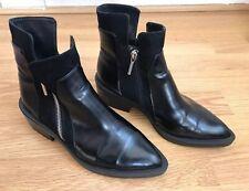 Zara trafaluc ladies black ankle boots size 37