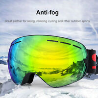Ultra-light Ski Snowboard Goggles Anti Fog Snow Sport Glasses UV Protection Lens