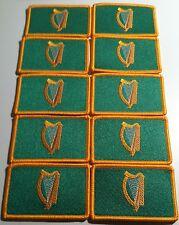 10 IRELAND Flag Patch with VELCRO® brand fastener Military IRISH Emblem #9