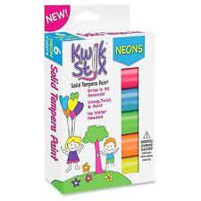 The Pencil Grip Kwik Stix Tempera Paint Neon Sticks - 6 / Each - Neon (tpg610)