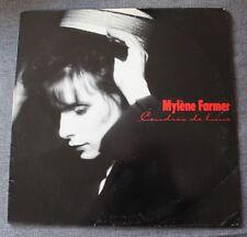 Mylene Farmer, cendres de lune, LP - 33 tours - version 10 titres