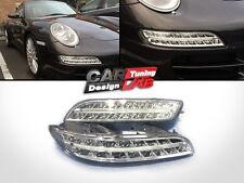 3 in 1 LED Daytime Light+Fog Lights Turn Signal For 2005-2009 Porsche 911 997