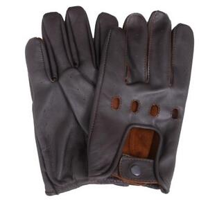 Men Leathe Driving Chauffeur Gloves 5 colors & sizes Small to 3XL Available.