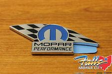 Chrysler Dodge Jeep Ram Mopar Performance Stick-on Emblem Badge OEM 82214234