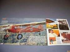 VINTAGE..CURTISS ROBIN C-1 HISTORY ..HISTORY/PHOTOS/DETAILS..RARE! (198M)