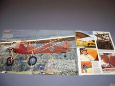 VINTAGE..CURTISS ROBIN C-1 HISTORY ..HISTORY/PHOTOS/DETAILS..RARE! (198M)