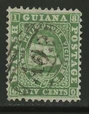 British Guiana  1862-65  Scott #  28  USED
