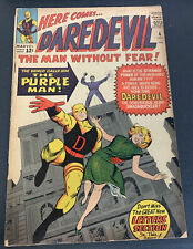 Daredevil #4 1st Appearance Killgrave Marvel Silver Age KEY Comic