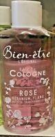 Bien-Etre 250 ML  Eau De Cologne Aux Essences De Rose 250 ML Geranium Ylang Rosa