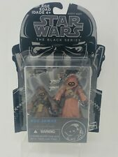 Star Wars Black Series Jawas #20 Blue Line 2010 Hasbro Canadian Cardback