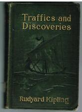 Traffics and Discoveries by Rudyard Kipling 1904 1st Ed. Rare Book! $
