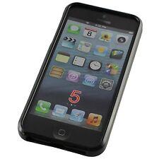Abverkauf: 2 Stück schwarze Schutzhülle für iPhone 5 5S SE, TPU Handyhülle Hülle