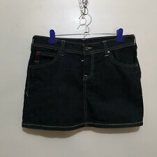 C566 - Puma x Evisu Jeans Mini Denim Skirt