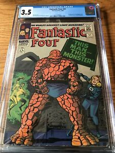 Fantastic Four 51 CGC Graded 3.5 1st Negative Zone Classic Thing Cover