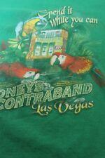 "Jimmy Buffett's Margaritaville Las Vegas Medium green shirt 20x26"""