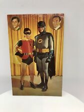 "BATMAN ADAM WEST AND BURT WARD SIGNED COLOR 3.5"" x 5.5"" PHOTO"