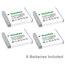 Kastar NB-6L Battery for Canon PowerShot SX530 HS, SX540 HS, SX610 HS, SX710 HS