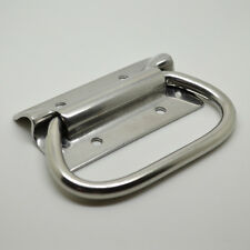 """4"""" Household Storage Box Tool Chest Metal Puller Chest Handle Stainless Steel"""