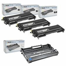 Compatible Brother TN350 Toner DR350 Drum Combo Pack: 3 TN350 1 DR350