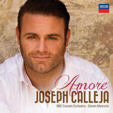 JOSEPH CALLEJA - AMORE  CD NEU MORRICONE/PIAF/LEONVCAVALLO/DALLA/+