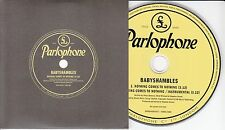 BABYSHAMBLES Nothing Comes To Nothing 2013 UK 2-track promo CD