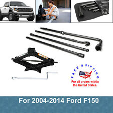 2004-2014 Ford F150 Spare Tire Jack Tool Kit Pack With 2 Tonne Scissor Jack NEW