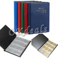 120 Coins Supplies Holder Case Penny Book Storage Collection Coin Album