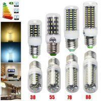 5x 3W 4.5W 5W 5.5W E27 4140SMD LED Corn Bulb Light Lamp Spotlight Day Warm White