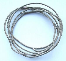 25ft of Gavitt Braided Shielded Push-Back Cloth Wire Vintage style