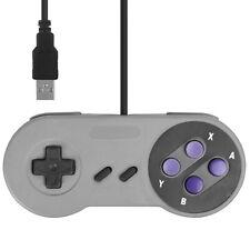 USB Retrò  Controller  Gamepad Joypad in stile super nintendo Per PC / Mac