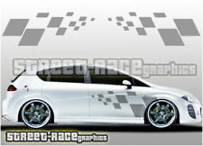 Seat side 016 squares graphics stickers decals Leon Ibiza Cupra FR Sport