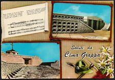 AD4784 Saluti da Cima Grappa (TV) - Vedute - Cartolina postale - Postcard