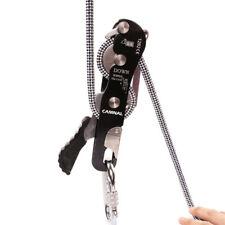 1xClimbing Stop Descender Self-braking for Single Rope Rock Climbing Caving Gear