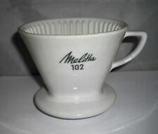 Porzellan Melitta Kaffeefilter weiß 102 - 4-Loch