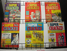 Super Cracked Lot of 6Diff from 1974-83 Sylvester Smythe Fun!  John Severin Art
