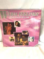 Vinyle  -  Deux 33 tours WARM FEELINGS 28 messages of Love