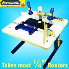 Charnwood W012 Bench Top 1/4 Router Table with Featherboard routing carving