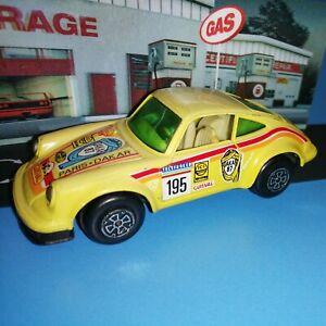 Guisval Yellow Porsche Carrera Rally Car 1987 Paris Dakar 1/35 scale