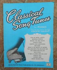 Classique chanson musique pour piano-Vincent Chevalier: 14 chansons en 24 pages - 1957 éd.