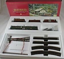 Bemo 7256 100 Starset RhB Güterzug mit Personenbeförderung aus Sammlung mit OVP