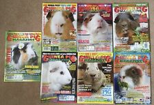 7x Guinea Pig Magazine Magazines